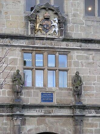 Shrewsbury Library - Image: Shrewsbury Library 02