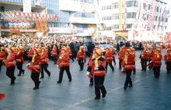New Year's Parade in February 2002