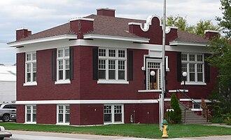 Sidney, Nebraska - Carnegie library