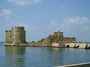 Παράλιο κάστρο της Σιδώνας.