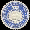 Siegelmarke Consulado General de Costa Rica en Alemania W0223489.jpg