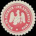 Siegelmarke K. Reserve-Infanterie Regiment No. 84 W0348264.jpg