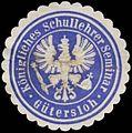 Siegelmarke K. Schullehrer Seminar Gütersloh W0364675.jpg