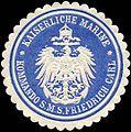Siegelmarke Kaiserliche Marine - Kommando S.M.S. Friedrich Carl W0224504.jpg