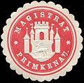Siegelmarke Magistrat - Primkenau W0232692.jpg