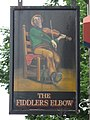 Sign for The Fiddler's Elbow, Prince of Wales Road - Malden Road, NW5 (2) - geograph.org.uk - 1451084.jpg