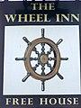 Sign for the Wheel Inn - geograph.org.uk - 1582820.jpg