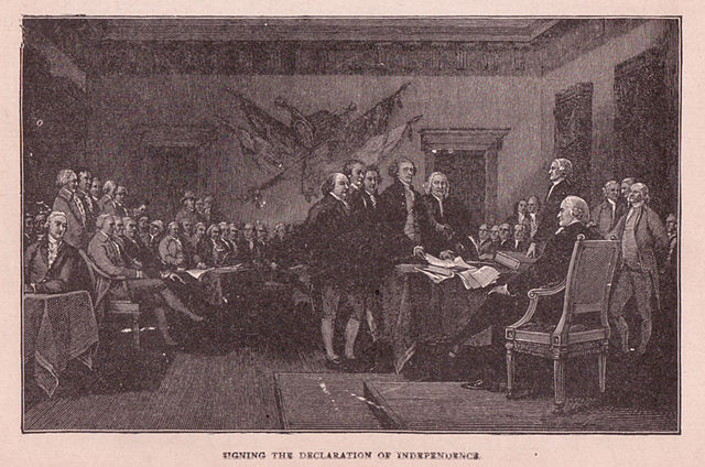 Signing of the Declaration of Independence, From WikimediaPhotos
