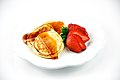 Silver Dollar Pancakes with Strawberry (5076305927).jpg