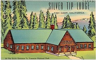 Fish Camp, California - Image: Silver Tip Lodge, Fish Camp, California (76432)