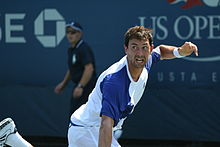 Simon Greul at the 2010 US Open 01.jpg