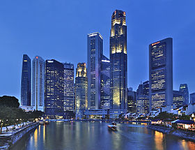 Singapore Skyline at blue hour (8026584052).jpg