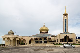 Sipitang District - Image: Sipitang Sabah Haji Hassim Mosque 02