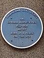 Sir Edward Burne-Jones 1833-1898 artist born in a house on this site.jpg