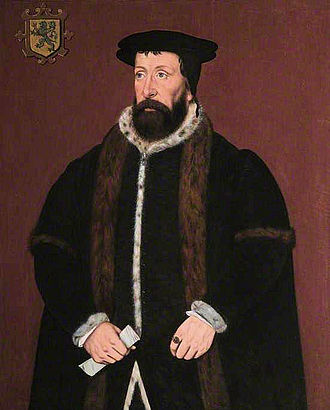 John Mason (diplomat) - Painting of Sir John Mason attributed to Sampson Strong, 1607. From the collection of Christ's Hospital, Abingdon