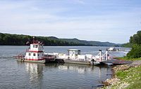 Sisterville WV to Fly, OH - Ferry