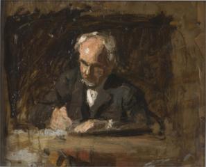 Benjamin Eakins (esquisse pour le Maître d'écriture)