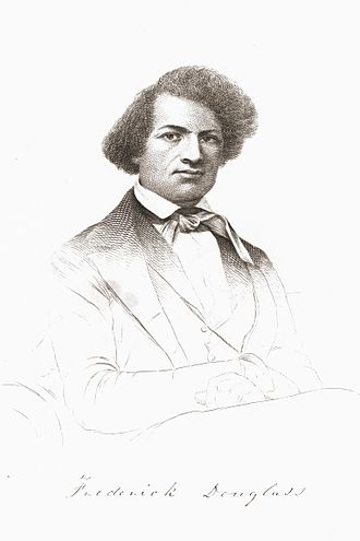 Narrative of the Life of Frederick Douglass, an American Slave - Frontispiece of Douglass from the first edition
