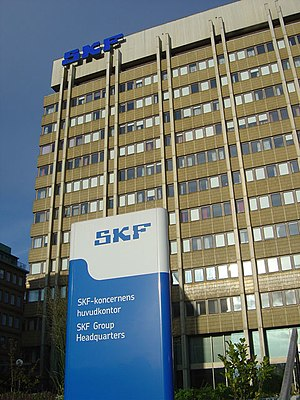 SKF - SKF corporate headquarters in Gothenburg.