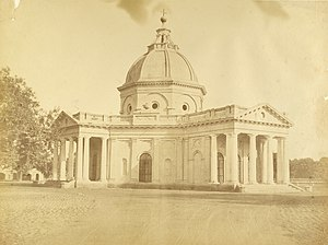 St. James' Church, Delhi - Skinner's Church c. 1858 photographed by Harriet and Robert Christopher Tytler