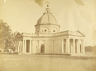 St. James' Church, Delhi - Skinner's Church c. 1858 photographed by Harriet and Robert Christopher Tytler