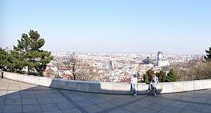 Slavín - Panorama from Slavin Memorial.