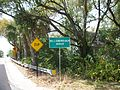 Sligh Avenue Bridge; Westbound Hillsborough River Sign.JPG