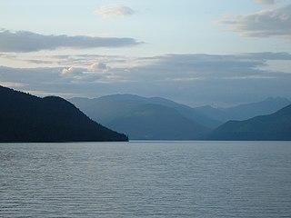 Slocan Lake lake in Canada
