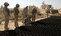 Soldiers and Afghans Join Forces to Build New Road in Helmand MOD 45152329.jpg