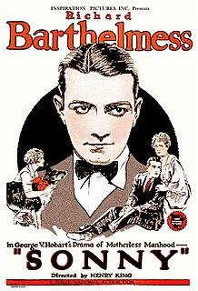 <i>Sonny</i> (1922 film) 1922 film by Henry King