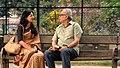 Soumitra Chatterjee & Radhika Apte in Rupkatha Noy.JPG