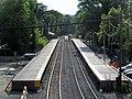 South Acton platform construction, June 2015.JPG