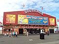 South pier frontage, Blackpool - DSC07080.JPG