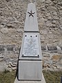 Soviet gravestone in Bia Reformed Cemetery. - Hungary.jpg