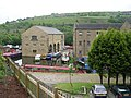 Sowerby Bridge Wharf - viewed from Wharf Street - geograph.org.uk - 824458.jpg