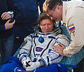 Soyuz TMA-04M Gennady Padalka shortly after landing.jpg