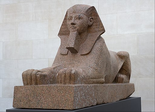 Sphinx of Hatshepsut - Female Pharaoh of Ancient Egypt