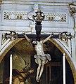 Ss. annunziata di portoria, int. , altare maggiore, crocifisso di giambattista bissone, 1620-50 ca..JPG