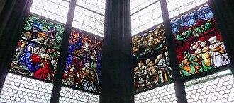 Konrad Stürtzel - Stained-glass windows in the Stürtzel-chapel in the Minster (modern copy)