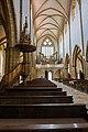 St. Blasius Regensburg Albertus-Magnus-Platz 1 D-3-62-000-24 22 Kanzel und Orgelempore.jpg
