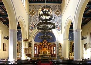 St. Marien am Behnitz - Image: St. Marien am Behnitz Inneres