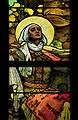 St. Vitus Cathedral, Mucha's window detail 2.jpg