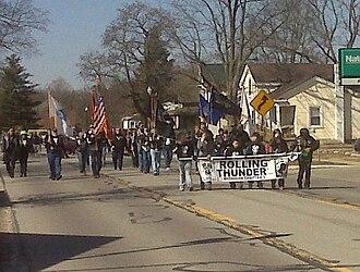 Pinckney, Michigan - St. Patrick's Day Parade in Pinckney, Michigan