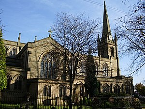 Syro-Malabar Cathedral of St. Alphonsa, Preston - Image: St Ignatius' Roman Catholic Church, Preston geograph.org.uk 614958