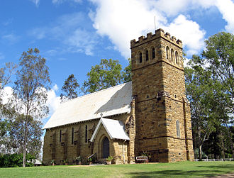 Mundoolun, Queensland - St John's Mundoolun Church, 2013
