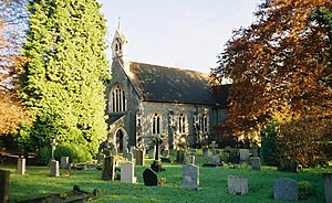 Littlewick Green - Image: St John the Evangelist's, Littlewick Green geograph.org.uk 88299