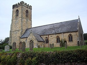 Allerston - Image: St Johns Church, Allerston