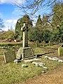 St Mary's church in Shouldham Thorpe - the war memorial - geograph.org.uk - 1737731.jpg