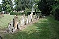St Mary, Attleborough, Norfolk - Churchyard - geograph.org.uk - 310613.jpg