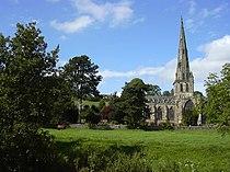 St Oswald's Church, Ashbourne - geograph.org.uk - 51469.jpg